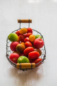Colorful Farm Raised Tomatoes
