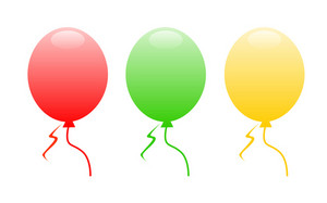 Colorful Funny Balloons