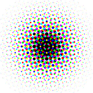 Colorful Halftone