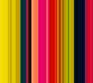 Colorful Holiday Striped Graphic