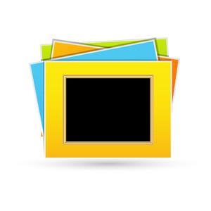 Colorful Photo Frame