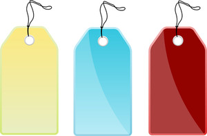 Colorful Price Tags