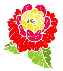 Colorful Rose Vector