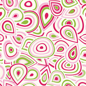 Colorful Seamless Abstract Hand-drawn Pattern