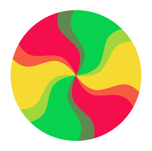 Colorful Spectrum Circle