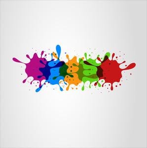 Colorful Splashes