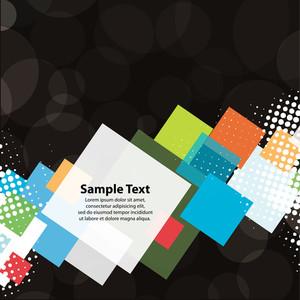Colorful Squares Design