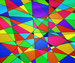 Colorful Stained Glass Texture