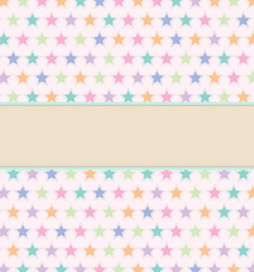 Colorful Stars Vector Illustration