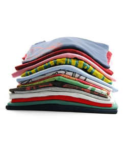 Colorful T-shirts