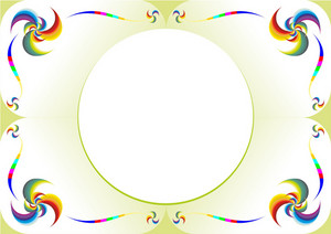 Colorful Vector Frame