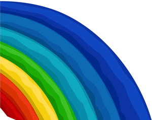 Colorful Vector Rainbow