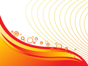 Colorfull Abstract Background With Circles