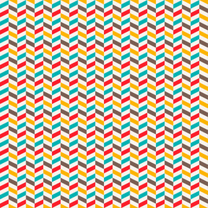 Colourful Chevron Pattern