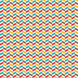 Colourful Chevron Pattern