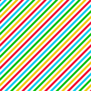 Colourful Diagonal Striped Clubhouse Pattern