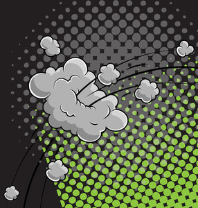 Comic Background Vector