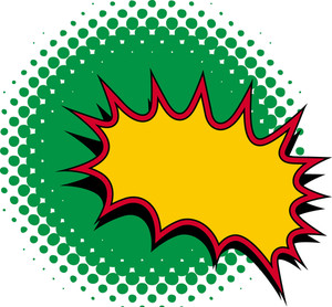 Comic Burst Vector