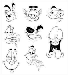 Comic Cartoon Expressions