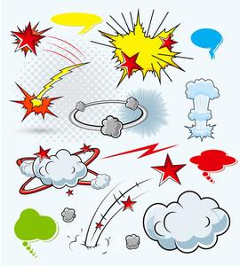 Comic Explosions