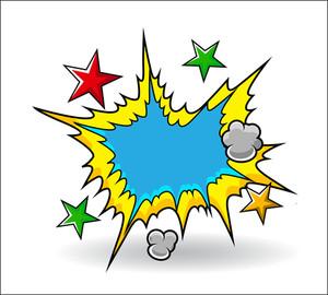Comic Explosive Vector