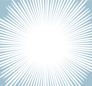 Comic Sunburst Background Vector