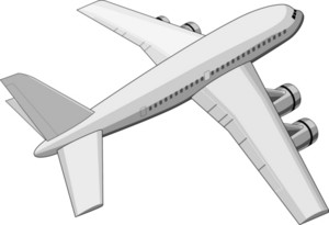 Commercial Jet Plane Airliner