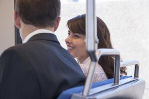 Commuters on public transportation