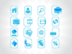 Complete Web Icons Collection