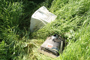 Computer In The Grass