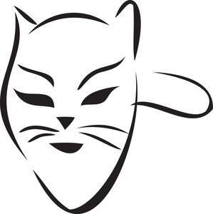 Concept Of Celebrating Masquerade Party.