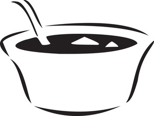 Concept Of Food With Curry Bowl.