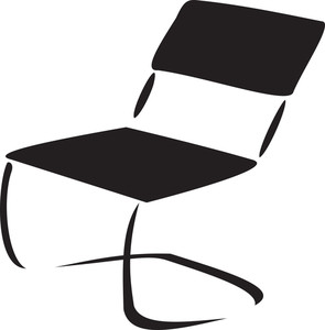Concept Of Furniture With Office Chair.