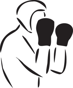 Concept Of Olympics Game With Boxing.