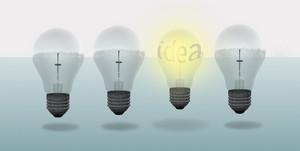 Conceptual Digital Light Bulb Design