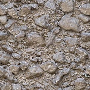 Concrete Pebble Seamless Texture