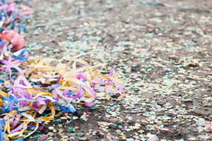 Confetti And Streamers