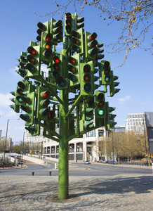 Confusion Of Many Traffic Lights