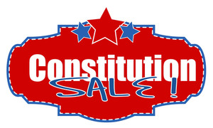 Constitution Day Sale Banner