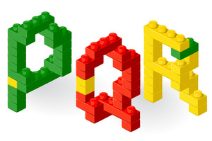 Construction Block Vector Abc.