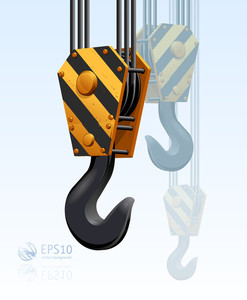 Construction Crane Hook