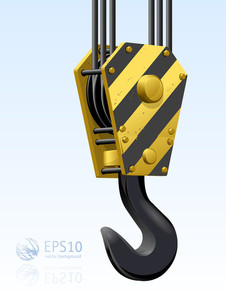 Construction Crane Hook
