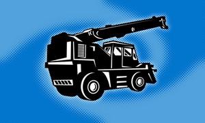 Construction Rough Terrain Crane