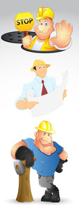 Constructional Guys Vectors