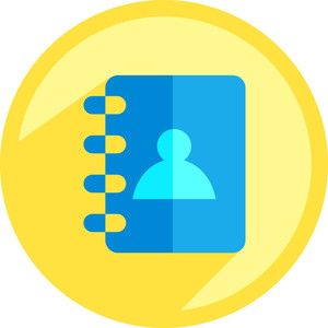 Contact Diary Icon