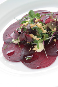Cooked Beetrood Salad Appetizer Starter