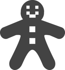 Cookies Glyph Icon