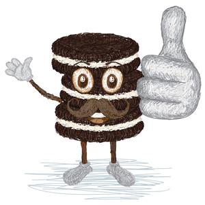 Cookies Mustache