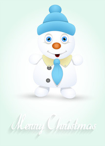 Cool Cute Snowman Christmas