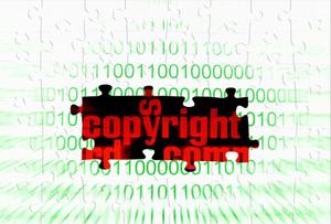 Copyright Puzzle Concept